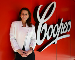 Melanie Cooper, fifth generation director of Coopers Brewery in Australia