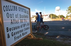 Collins Oyster Company was one family business that didn't survive the disaster